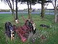 Mowing machine, Gretna - geograph.org.uk - 1528456.jpg