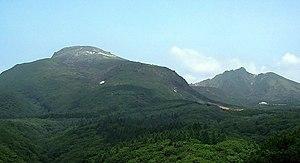 Mount Nasu - Image: Mt.Chausu&Mt.Asahi