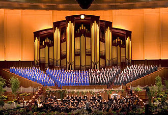 Mormons - The 360-member, all-volunteer Mormon Tabernacle Choir