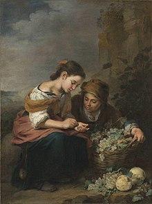 Vendedores de fruta de murillo hacia 1670 for Enrique cuarto de castilla