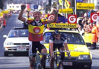 Johan Museeuw - Johan Museeuw won his first Tour of Flanders in 1993.