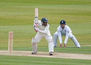 Mushfiqur Rahim - Rahim batting against England in a Test at Lord's in May 2010.