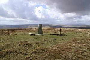 Aberystruth - Aberystruth The summit of Mynydd Carn-y-cefn one kilometre west of Blaina looking west