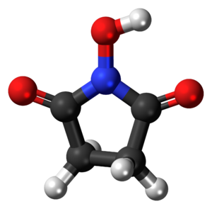 N-Hydroxysuccinimide - Image: N Hydroxysuccinimide 3D ball