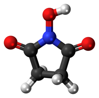 N-Hydroxysuccinimide - Image: N Hydroxysuccinimide 3D ball