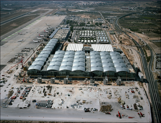 international airport in Alicante, Spain