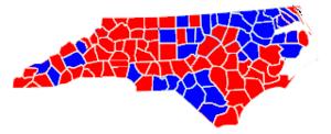 United States Senate election in North Carolina, 2002 - Image: NC senate 2002