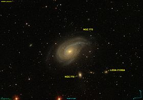 Image illustrative de l'article NGC 772
