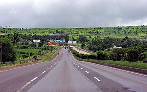 National Highway 48 (India) - A scenic four laned stretch of NH 48 (formerly NH 4) between Hubli and Belgaum in North Karnataka.