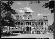 "NORTHEAST FACADE - Iolani Palace%2C King and Richards Streets%2C Honolulu%2C <a style=""color:blue"" href=""https://www.lahistoriaconmapas.com/timelines/countries/timeline-chronology-Honolulu.html"">Honolulu</a> County%2C HI HABS HI%2C2-HONLU%2C8-7.tif"