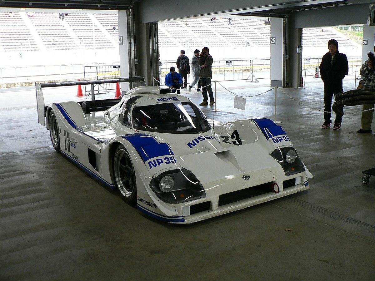 Nissan Sports Car >> Nissan P35 - Wikipedia