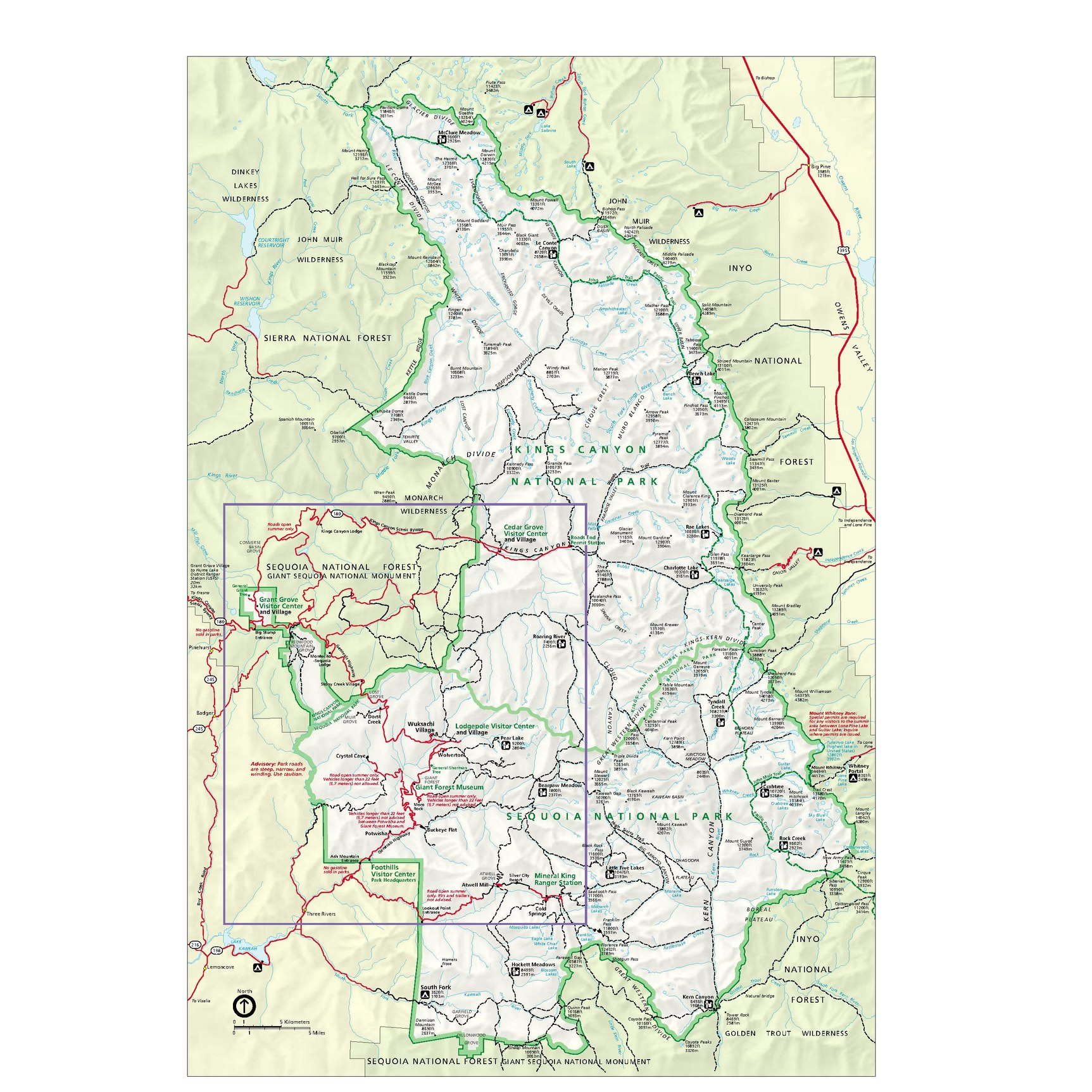 File:NPS sequoia-kings-canyon-park-map.pdf - Wikimedia Commons on california national parks map, giant sequoia national park map, kings canyon np map,