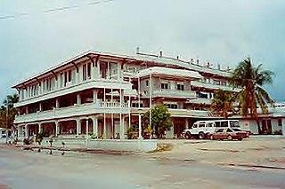 Aiwo District District in Aiwo, Nauru