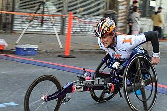 Tatyana McFadden - New York City Marathon 2011