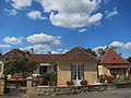 Nabirat Dordogne-Lot district with a house and the new Library (Bibliotheque) - panoramio.jpg