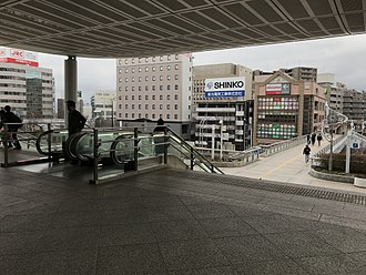 Nagano (city) - Station East Entrance