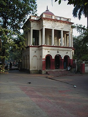 Sarada Devi - The south side of the nahabat (music tower), where Sarada Devi lived in a small room on the ground floor.
