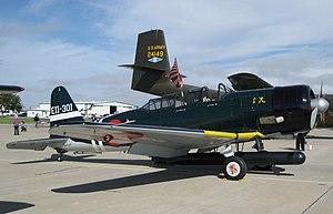 Nakajima B5N replica, Midland, Texas.jpg