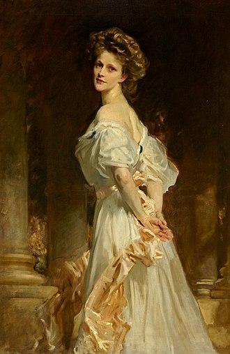 Nancy Astor, Viscountess Astor - Portrait of Nancy Astor by John Singer Sargent, 1909