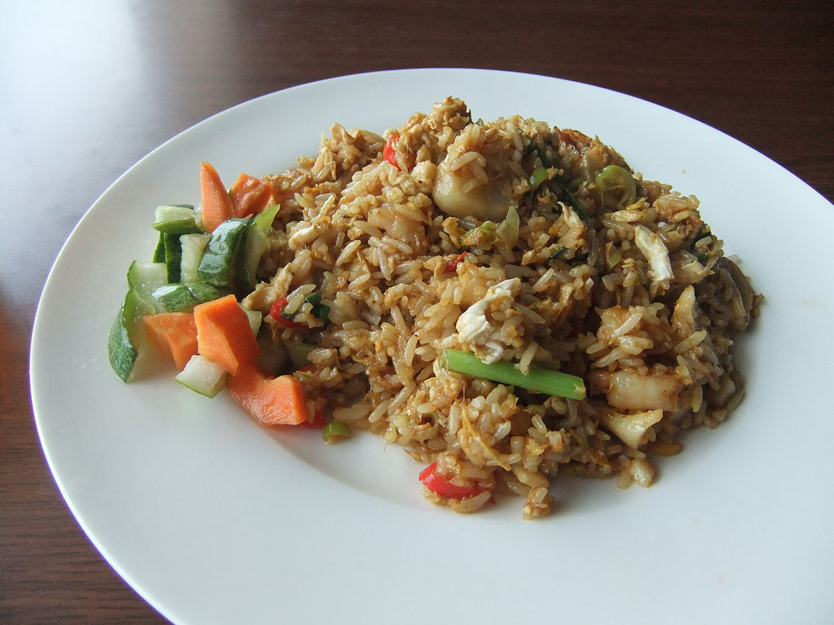 fried rice   wikipedia