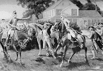Nathaniel Woodhull - The capture of Nathaniel Woodhull