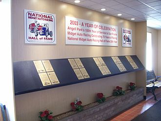 National Midget Auto Racing Hall of Fame - A wing of the Hall of Fame