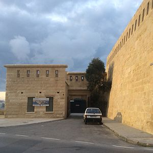 National War Museum (Malta) - Image: National War Museum