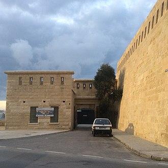 National War Museum (Malta) - Image: National War Museum