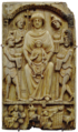 Nativity and Magi Byzantine ivory.png