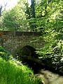 Natur Brücke über den Kriegbach Karlsruhe Deutschland.JPG