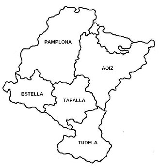 Navarrese electoral Carlism during the Restoration - Electoral districts, 19th century