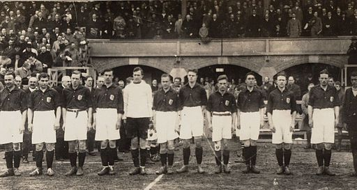 Nederlands elftal 29 april 1923