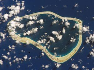 Nengonengo - NASA picture of Nengonengo Atoll