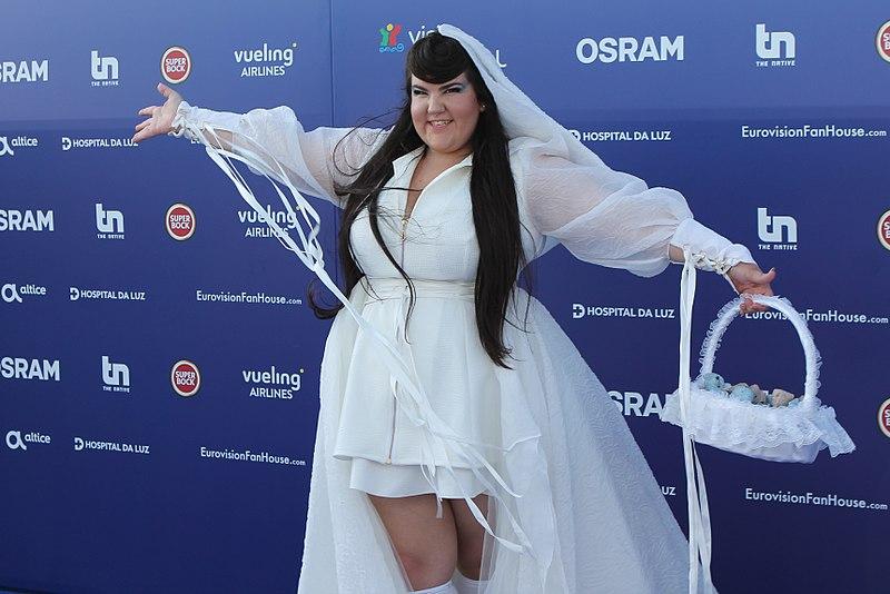 Netta Barzilai, representante de Israel, es la ganadora del Festival de Eurovisión en 2018.