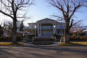 Nevada Governor's Mansion - The Governor's Mansion in Carson City