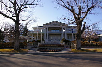 Government of Nevada - The Governor's Mansion in Carson City