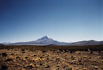 Cordillera Occidental (Central Andes) - Nevado Sajama.