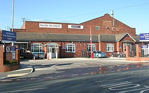 Neville Hill TMD - Neville Hill depot.