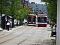 New Flexity LR vehicles approach Spadina and College, 2016 07 21 (2).JPG - panoramio.jpg
