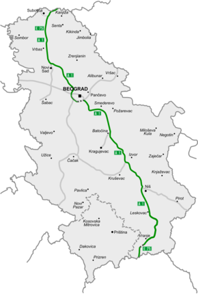 A1 Motorway Serbia Wikipedia