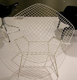 Ngv design, harry bertoia, diamond chair, 1951.JPG