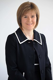 Portrait de Nicola Sturgeon
