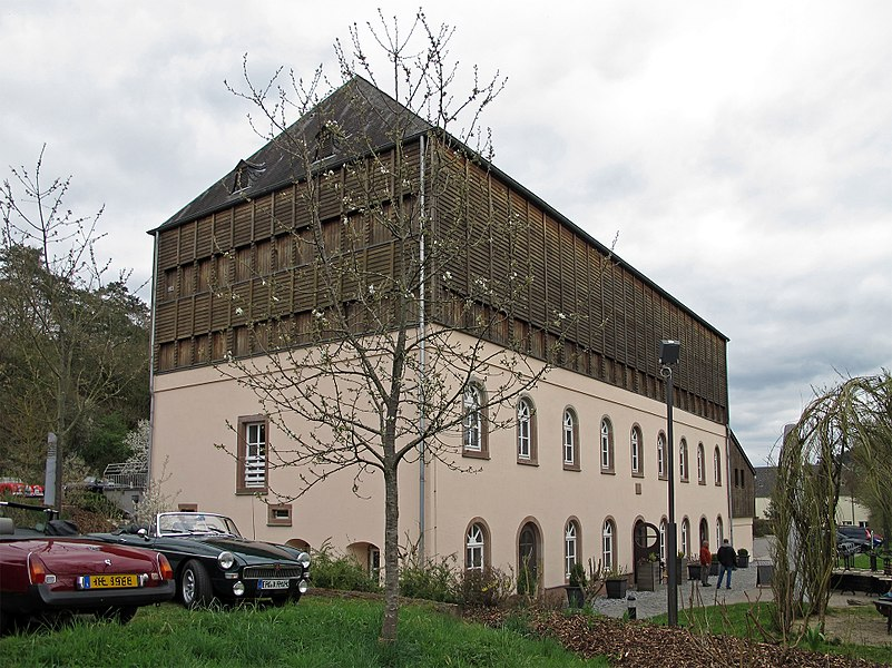 The Hennesbau in Niederfeulen, rue de la Fail