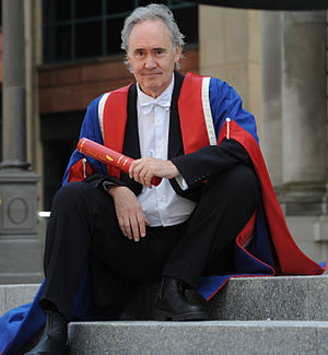 Nigel Planer - Planer after receiving his Honorary Doctor of Arts degree from Edinburgh Napier University in 2011