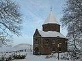 Nijmegen, kapel van het Valkhof met Waalbrug foto13 2010-12-20 12.36.JPG