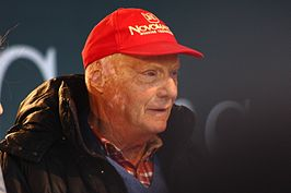 Niki Lauda at Stars and Cars 2014