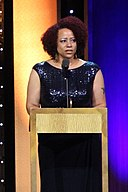 Nikole Hannah-Jones at the 75th Annual Peabody Awards for This American LIfe's The Case for School Desegregation Today (cropped).jpg