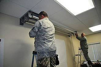 Puerto Rico State Guard - Nine members of the 1st Air Base Group-Puerto Rico Air State Guard spent a week on island travelling to different installations and offices to conduct visual inspections and minor repairs to facilities on St. Croix.