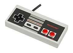 The iconic NES controller