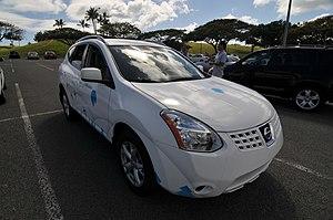 Better Place - Nissan eRogue in Hawaii.